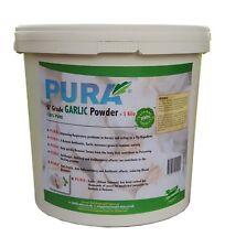 GARLIC Powder 3KG Bucket - HORSE & PONY Supplements HUMAN FOOD Grade