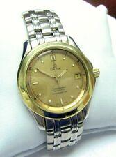 Omega Seamaster Automatic Chronometer - 36mm - Steel & Gold  c)1986 - Cal 1109
