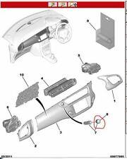 GENUINE CITROEN DS3/ C3/ C3 PICASSO/ C4 PICASSO AIR FRESHENER CHROME CAP 824435