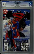 SUPERMAN BATMAN 9 - CGC 9.8 - Original 1st print, 1st Supergirl, Michael Turner