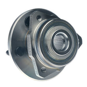 Fits 02-05 Liberty Without ABS WH513178 Wheel Bearing and Hub Assembly, Front