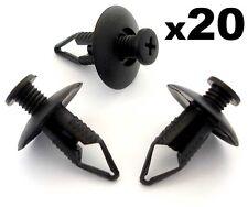 20x 8mm Pare-choc,Passage De Roue Revêtement,& Protège-boue Régleur Clips