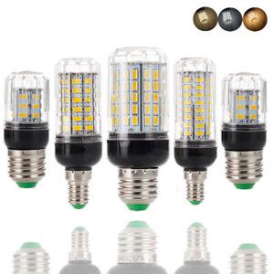 E27 E14 B22 LED Corn Light Bulbs 5730 SMD 15W 20W 35W Bright Lamps Energy Saving
