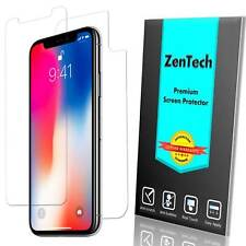 [4-PACK] ZenTech® iPhone X - Clear FULL BODY Screen Protector Guard Saver Film