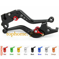 Fit Honda CBR125R / CBR150R 2004-2012 Shorty Clutch Brake Levers CNC Black