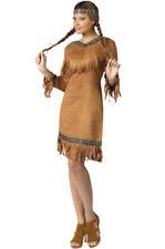 Brand New Native American Female Adult Halloween Costume