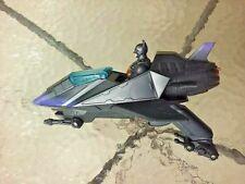 Dc Batman Begins Handheld Vehicle Jet Plane W/ Batman Action Figure Mattel