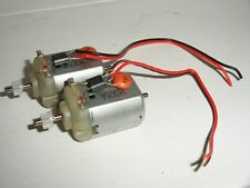 Scalextric - 2x Mabuchi Motor, Pignone e fili