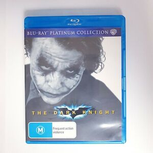 Batman The Dark Knight Bluray Region 4 AUS Free Postage Blu-Ray