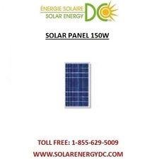 Solar Panel Panneau Solaire Poly PV 150 Watt 150W 12 Volt MC4 cable Grade A RV