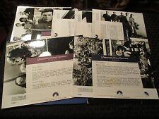 1984 STAR TREK Search For Spock 7 Promo 8x10s & 46p Handbook w/ Cast/Credits NM
