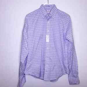 Brooks Brothers Button Down Shirt New Neck 15 Custom Tailored Cotton Workwear