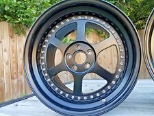 Ultima GTR Wheels 5X112 MERCEDES WIDE JDM 3PC OZ VOLK RAYS WORK