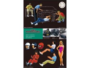 Fujimi 116365 Figures & Interior Accessories 1:24 Scale Kit