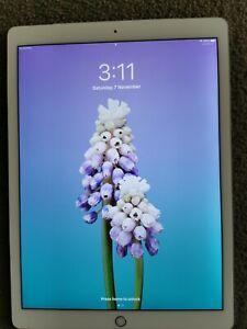 Silver 12.9 iPad Pro 128GB WiFi + Cellular (A1652) 2015