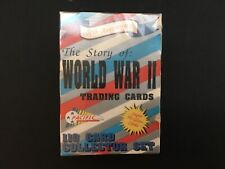 Story of World War II 110 Card Collector Set Trading Cards 1992 Pacific