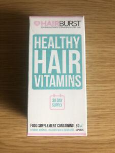 Hairburst Healthy Hair Growth Vitamins - 60 Capsules   FAST&FREE