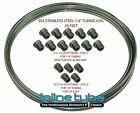 1999-07 Chevy Gmc Truck Stainless Steel Brake Line Tube Nuts Repair Kit 14 Sae