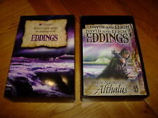 DAVID & LEIGH EDDINGS-THE REDEMPTION OF ALTHALUS-SIGNED x 3-PB-PROOF-F-MEG RARE