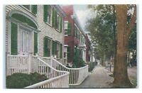 Postcard Nantucket Doorways MA I7