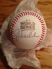JOE MADDON Autographed Signed Rawlings OWS 2016 World Series Baseball JSA