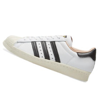 ADIDAS WOMENS Shoes Superstar 80S - White, Black & Off White - BY2957