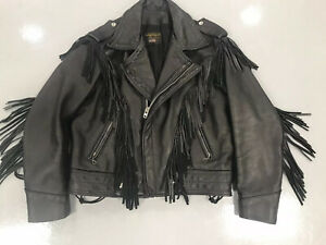 Vanson Fringed Leather Jacket - The Real Deal!