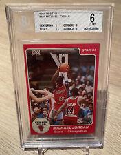 1984-85 Michael Jordan Star RC #101 BGS 6 True RC