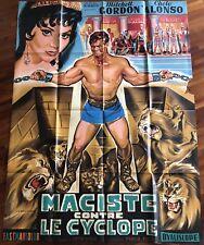 Maciste Contre Le Cyclope / Affiche / Cinéma / Photos