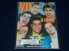 2001 APRIL YOUNG & MODERN YM MAGAZINE - O-TOWN COVER - O 393