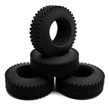"4pcs 1.9"" Wheel Tires 98mm w/ foam inserted for RC Crawler car Axial SCX10 #1"