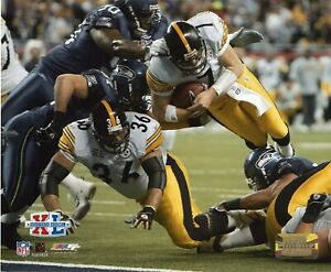 Ben Roethlisberger and Jerome Bettis Piitsburgh Steelers 8x10 Photo by PhotoFile