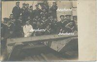 Foto Kaiserliche Marine Matrosen/Mannschaft SMS Elsass (i709)