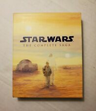 Star Wars The Complete Saga Blu-ray 2011 - 6 Movies 9 Disc Set Factory Sealed