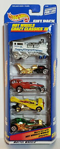 "1998 Mattel Hot Wheels Gift Pack ""Crazy Classics III"" #21085"