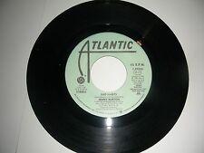 PROMO Dance 45 Jenny Burton - Bad Habits  Atlantic VG+ 1985
