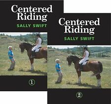 Centered Riding 1 & 2 by Sally Swift DVD Set of 2 - Brand New & Sealed