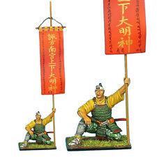 Sam035 Samurai Standard Bearer - Takeda Clan War Banner by First Legion