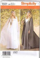 Renaissance Queen Princess Wedding Dress Gown Sewing Pattern Plus 16 18 20 22 24