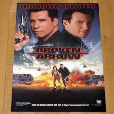 NOME IN CODICE BROKEN ARROW locandina poster John Travolta John Woo Slater
