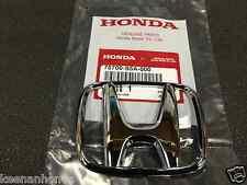 Genuine OEM Honda Civic 4Dr Sedan Front Grille H Emblem 2001 - 2003