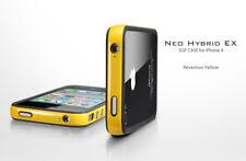 Spigen SGP custodia cover Bumper + pellicola Neo Hybrid EX per iPhone 4 S Rev Ye