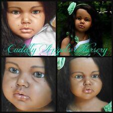 Reva Schick Reborn Custom, Angelica or Gabriella,Rooted* Cuddly Angels Nursery*