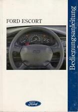 FORD ESCORT Betriebsanleitung 1995 Bedienungsanleitung Handbuch Bordbuch MK7  BA