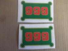 JOHN DEERE 999 CORN PLANTER HOPPER DECALS. VINYL. SOLD AS A SET (2)