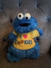 """Sesame Street I love Cookies Applause Ratlle Plush 1982 12"""""""