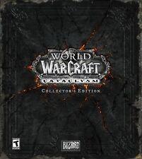 World of Warcraft : Cataclysm Collector neuf (uk)