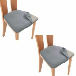 Decor Stretch Seat Cushion Elastic Protector Slipcovers Seat Covers Chair Cover