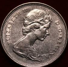 1967 Canada 25 Cents Silver Foreign Coin