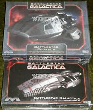 Battlestar Galactica & Pegasus Reimagined Model Kit Set New Misb Moebius 1:4105
